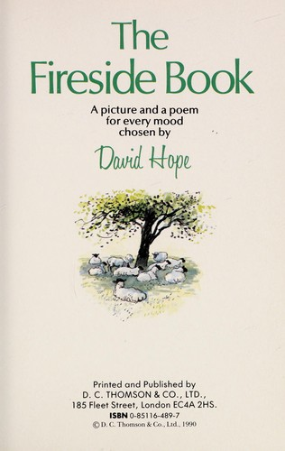 The fireside book by David Hope