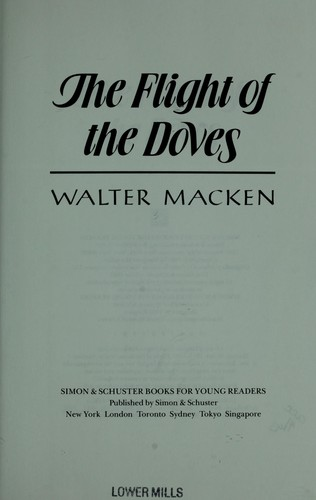 The flight of the doves by Walter Macken