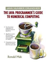 Cover of: Java Number Cruncher | Ronald Mak