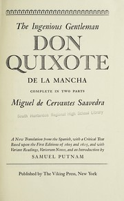 Cover of: The ingenious gentleman Don Quixote de La Mancha | Miguel de Cervantes Saavedra