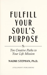 Cover of: Fulfill your soul