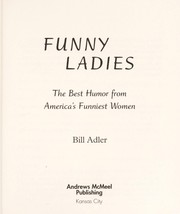 Cover of: Funny ladies