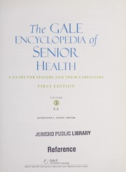 Cover of: Gale Encyclopedia of Senior Health |