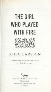Cover of: The girl who played with fire