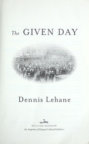 Cover of: The given day