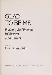 Cover of: Glad to be me |