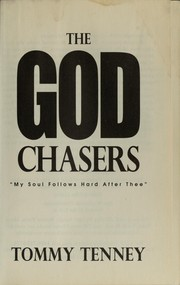 Cover of: The God Chasers |