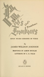 Cover of: God's Trombones | James Weldon Johnson