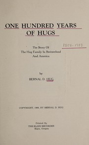 Cover of: One hundred years of Hugs