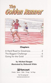Cover of: The golden runner | Michael Burgan