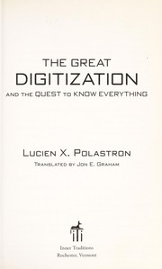 Cover of: The great digitization