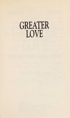 Greater love by Jean Shaw