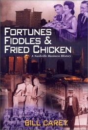 Cover of: Fortunes, Fiddles and Fried Chicken