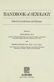Cover of: Selected syndromes and therapy