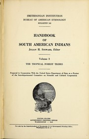 Cover of: Handbook of South American Indians