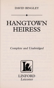 Cover of: Hangtown Heiress | David Bingley