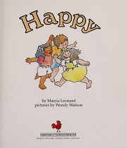 Cover of: Happy: Includes Stickers (How I Feel Book Series , No 2)