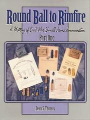 Cover of: Round ball to rimfire