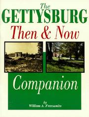 Cover of: The Gettysburg then and now companion