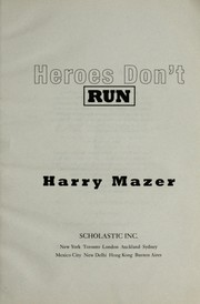 Cover of: Heros Don't Run |