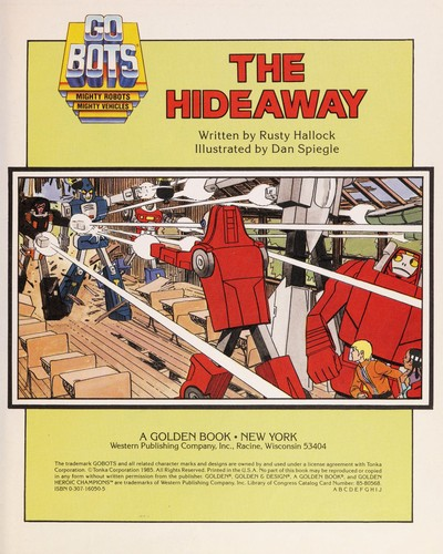 The hideaway by Rusty Hallock