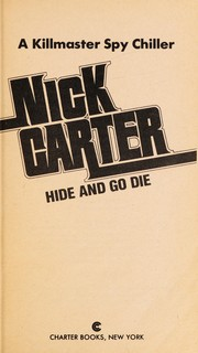 Cover of: Hide and go die | Nick Carter