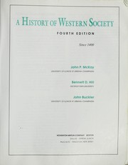 Cover of: A history of Western society since 1400 | John P. McKay