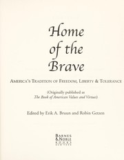 Cover of: Home of the Brave America