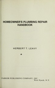 Cover of: Homeowner