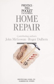Cover of: Home repair | John McGowan