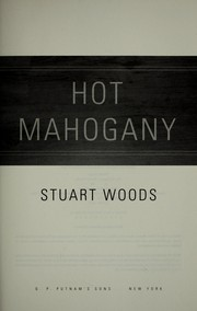 Cover of: Hot mahogany: a Stone Barrington novel