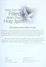 How Can I Be Filled with the Holy Spirit? (Discovery Series Bible Study)