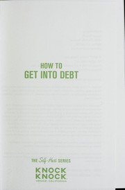 Cover of: How to get into debt |