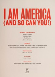 I am America and so can you