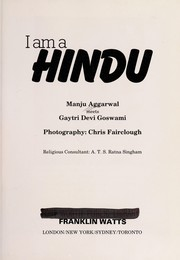 Cover of: I am a Hindu | Manju Aggarwal