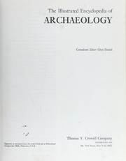 Cover of: The Illustrated encyclopedia of archaeology |