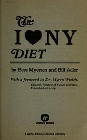 Cover of: The I [love] N Y diet
