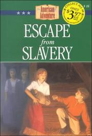 Cover of: Escape from slavery