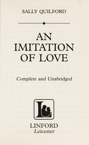 Cover of: An imitation of love | Sally Quilford