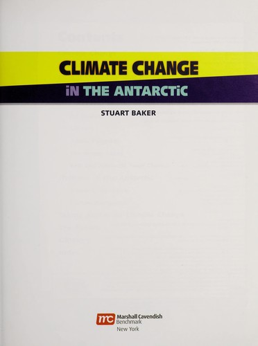 In the Antarctic by Stuart Baker
