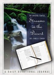 Cover of: Streams in the Desert Daily Devotional Journal |