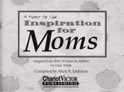 Cover of: Inspiration for Moms | Victor Books