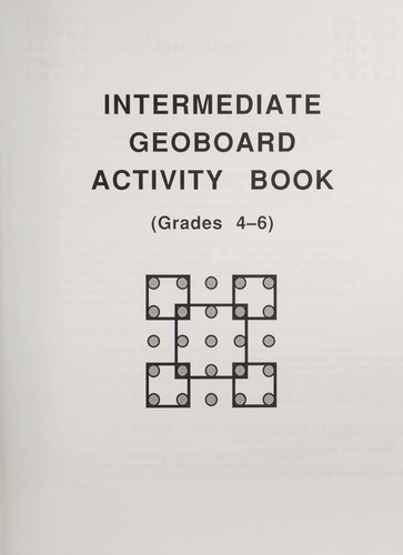 Intermediate geoboard activity book by Learning Resources