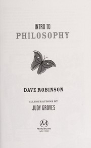 Cover of: Intro to philosophy