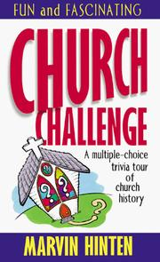 Cover of: Church challenge