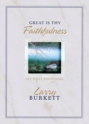 Cover of: Great Is Thy Faithfulness