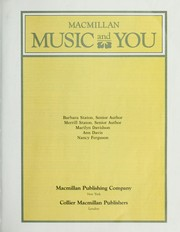 Cover of: Music and you