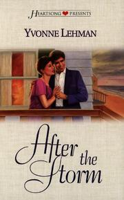 Cover of: After the Storm (Heartsong Presents #290)