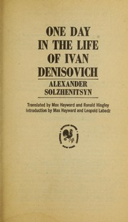 Cover of: Odin denʹ Ivana Denisovicha