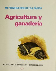 Cover of: Agricultura y ganaderia |